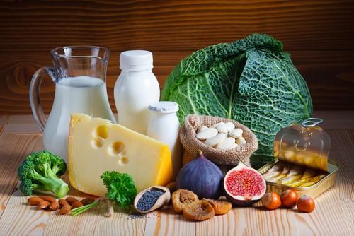 foods with calcium